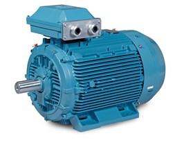 Liquid cooled ac motor with permanent magnets for Baldor permanent magnet motors