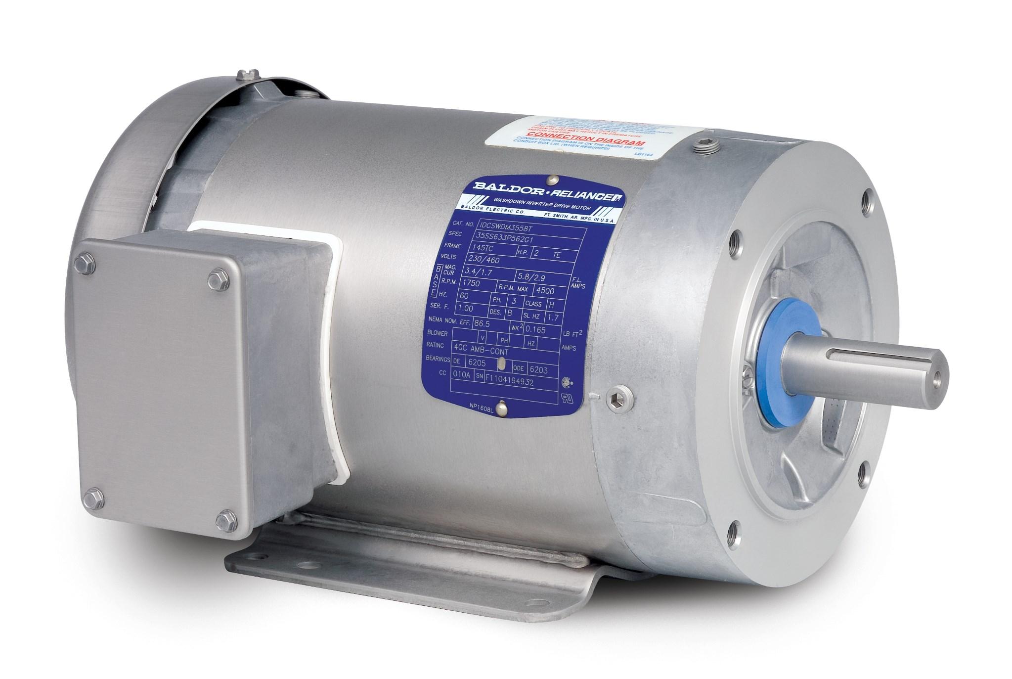 washdown duty baldor com rh baldor com baldor vfd drive Fdl3612tm Baldor Capacitor Wiring Diagram