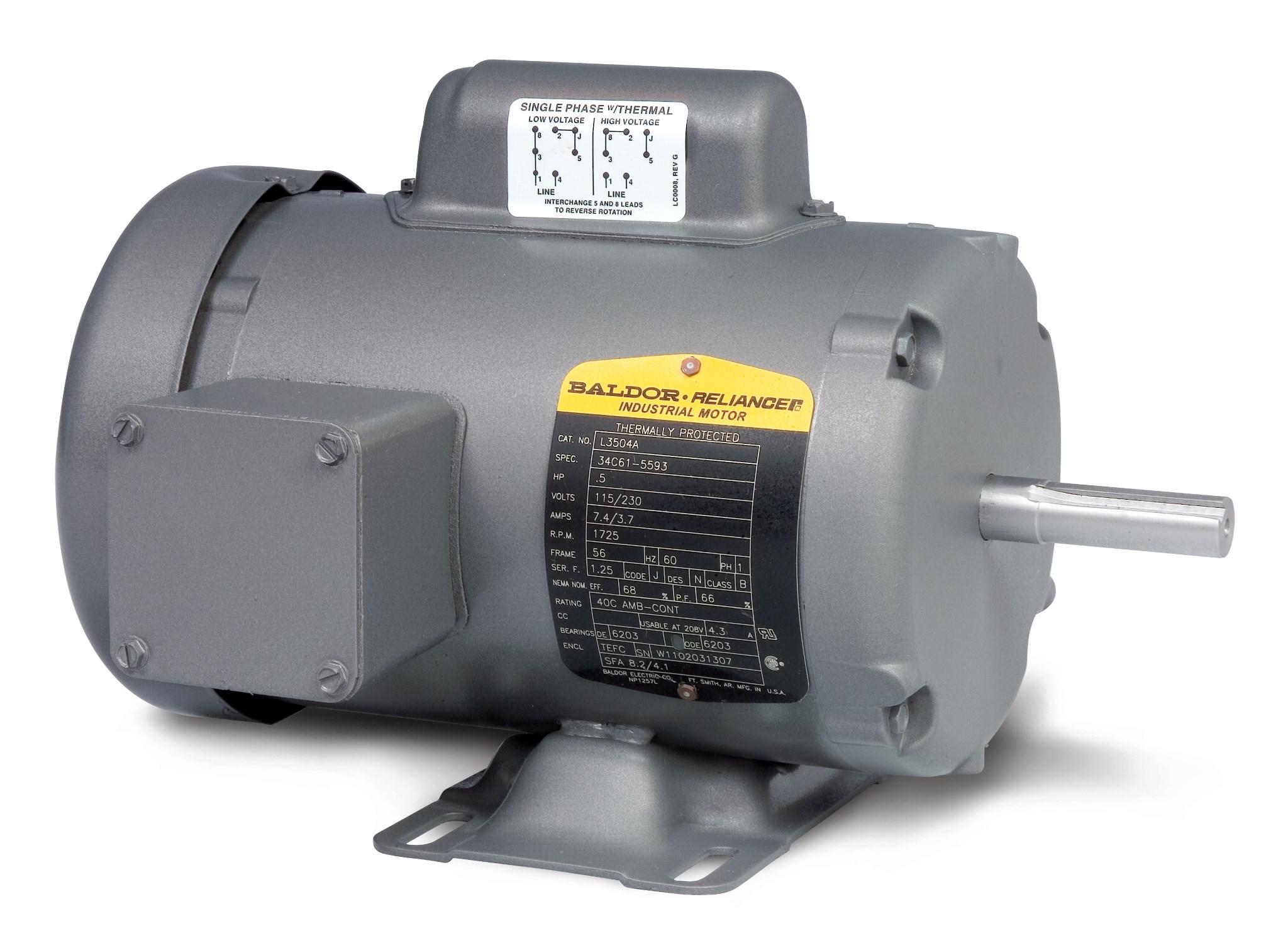3510 Baldor Motor Wiring Diagram Master Blogs Chevrolet Tacuma L3510 Product Catalog Com Rh Reliance Motors Electric Diagrams