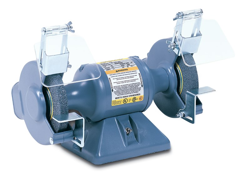 BALDOR 600E 6IN 1/3HP BENCH GRINDER