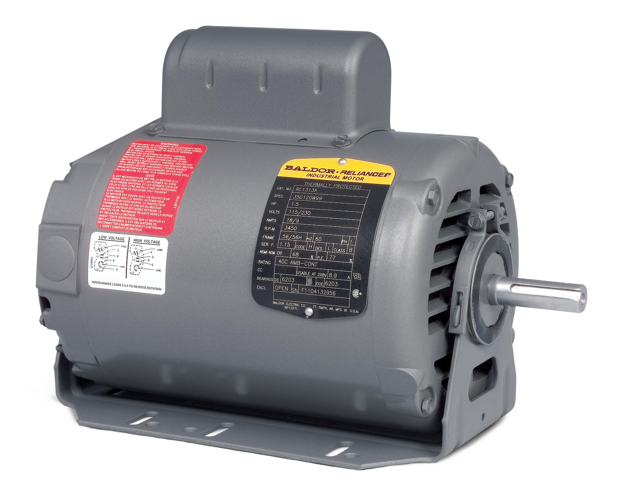 A000688 old baldor bench grinder 1 3hp wiring diagram diagram wiring  at n-0.co