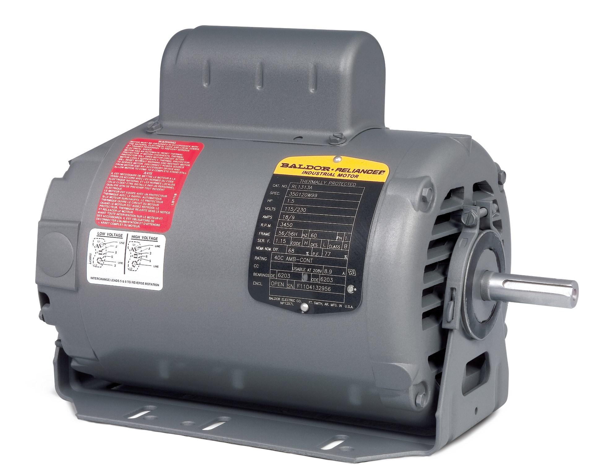 Baldor 115 230 Reverse Motor Wiring Trusted Diagrams For Motors Diagram Vl3504 House Symbols U2022 Carrier