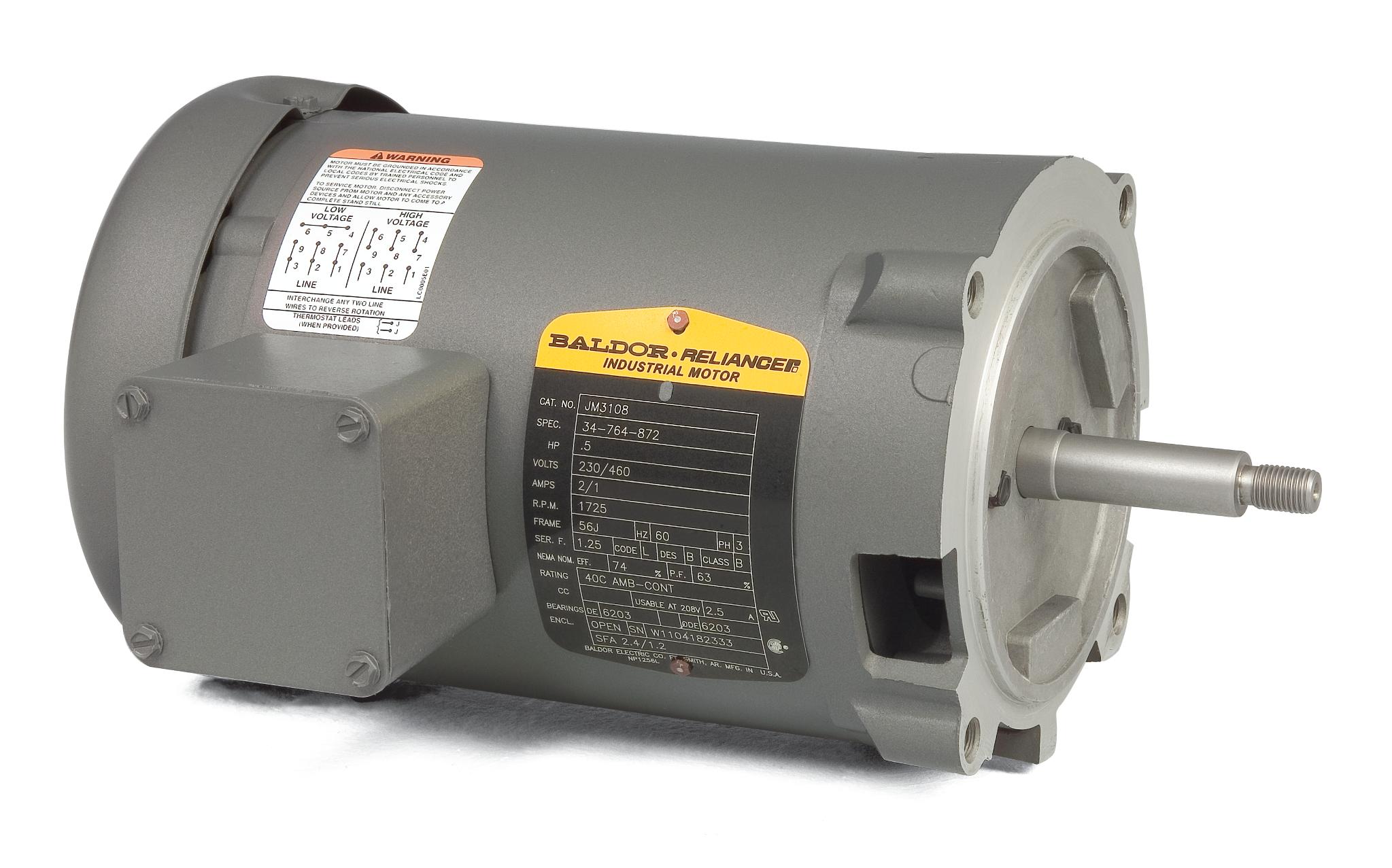 Baldor Industrial Motor Wiring Diagram Schematic F700 Hydraulic Brake System On 89 Dodge Van Jm3120 112hp Jet Pump Mtr 15hp3450rpm3ph60hz56j3424m Rhsteinerelectric At Selfit