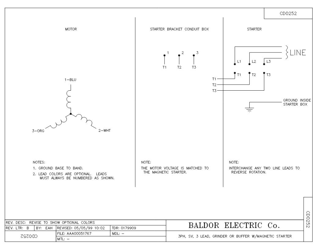 Baldor L1410t Wiring Diagram Baldor 5hp Single Phase Motor