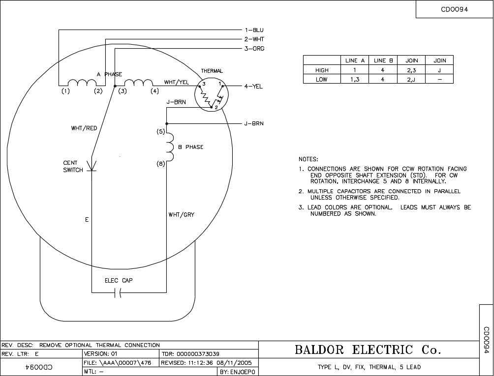 184t baldor electric motor wiring diagrams 3 phase for 3 phase dc motor
